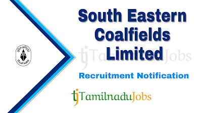 SECL Recruitment 2019, SECL Recruitment Notification 2019, Central govt jobs, Latest SECL Recruitment update