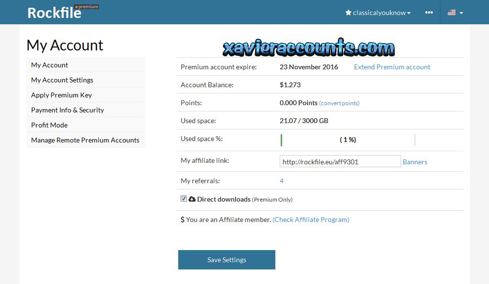 Datafile Account generator