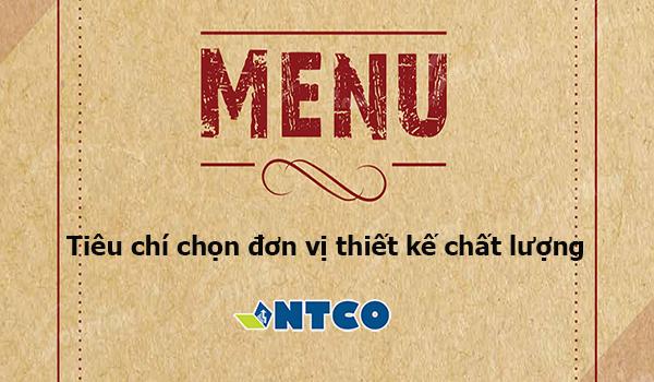 thiet ke menu chuyen nghiep
