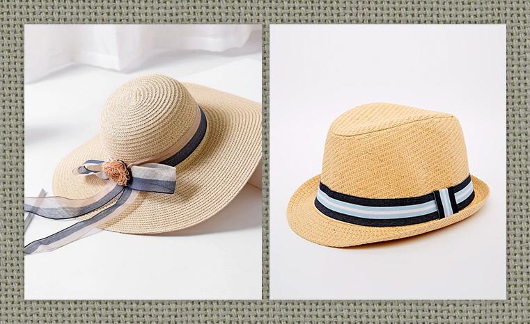 Incluir una cinta alrededor es una forma habitual de dar un toque de color  al sombrero de paja. También hacer con la cinta un lazo y las puntas caigan  por ... 7750b2c95a1