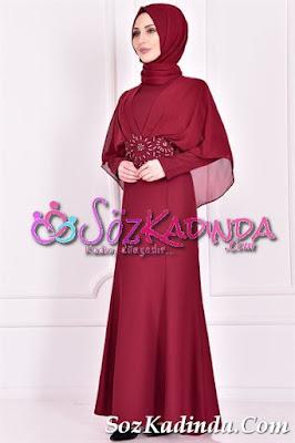 şifon detaylı en güzel abiye elbise modelleri ve fiyatları