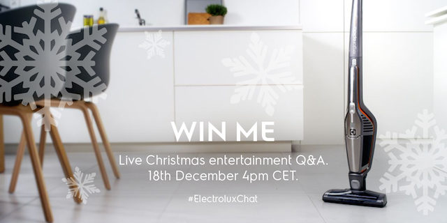 Win an Electrolux Ergorapido cordless vacuum cleaner