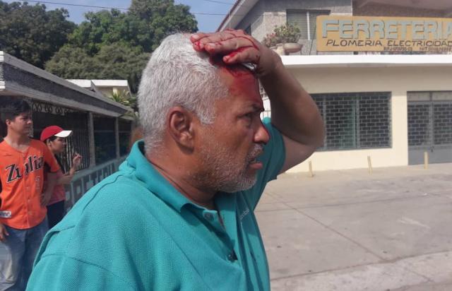 Colectivos del régimen causaron destrozos en iglesia Guadalupe de Zulia