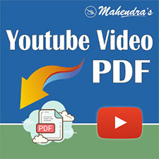Youtube Video PDFs