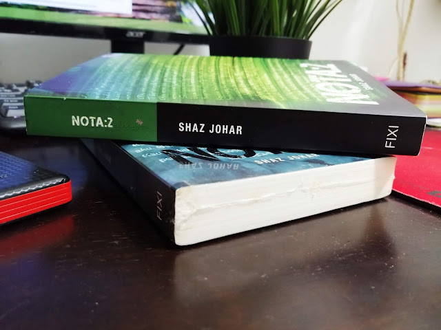 Review Novel Nota 2 by Shaz Johar