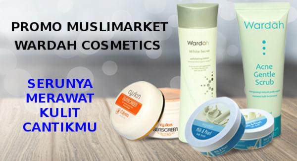 Harga Promo Komestik Wardah MusliMarket Terbaru