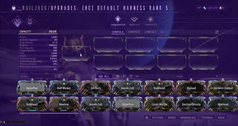 Railjack 3.0 update
