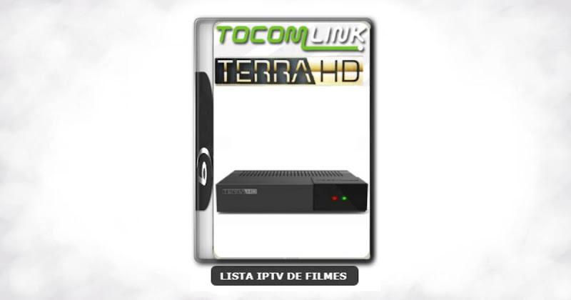 Tocomlink Terra HD / Terra Plus Nova Atualização Satélite SKS Keys 61w ON V2.028