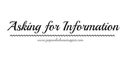 Materi dan Soal Bahasa Inggris 'Asking for Information' Kelas 7 SMP