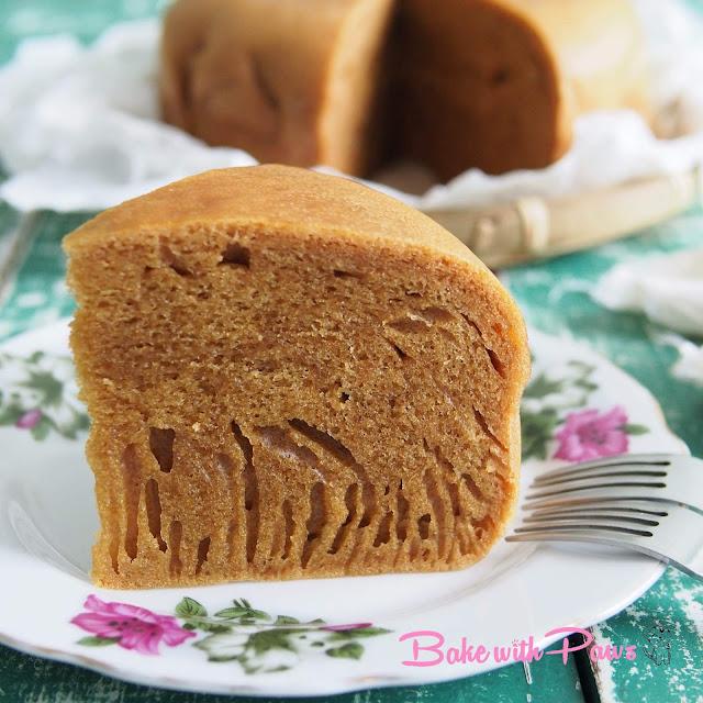 Sourdough Ma Lai Gao (Steamed Sponge Cake)