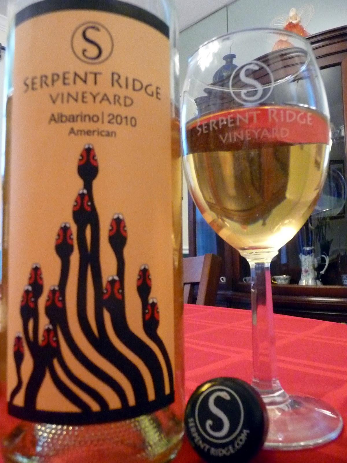 Chef Bolek Serpent Ridge Vineyard Albari 241 O 2010