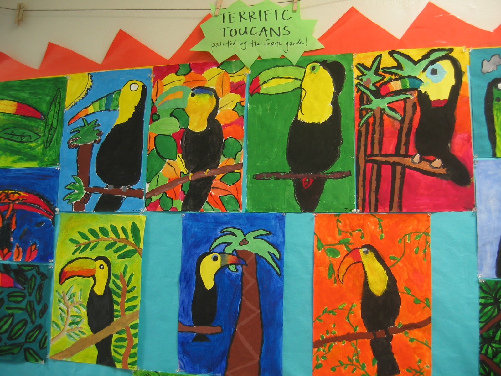 Life On And Off O Street Lower School Art Projects