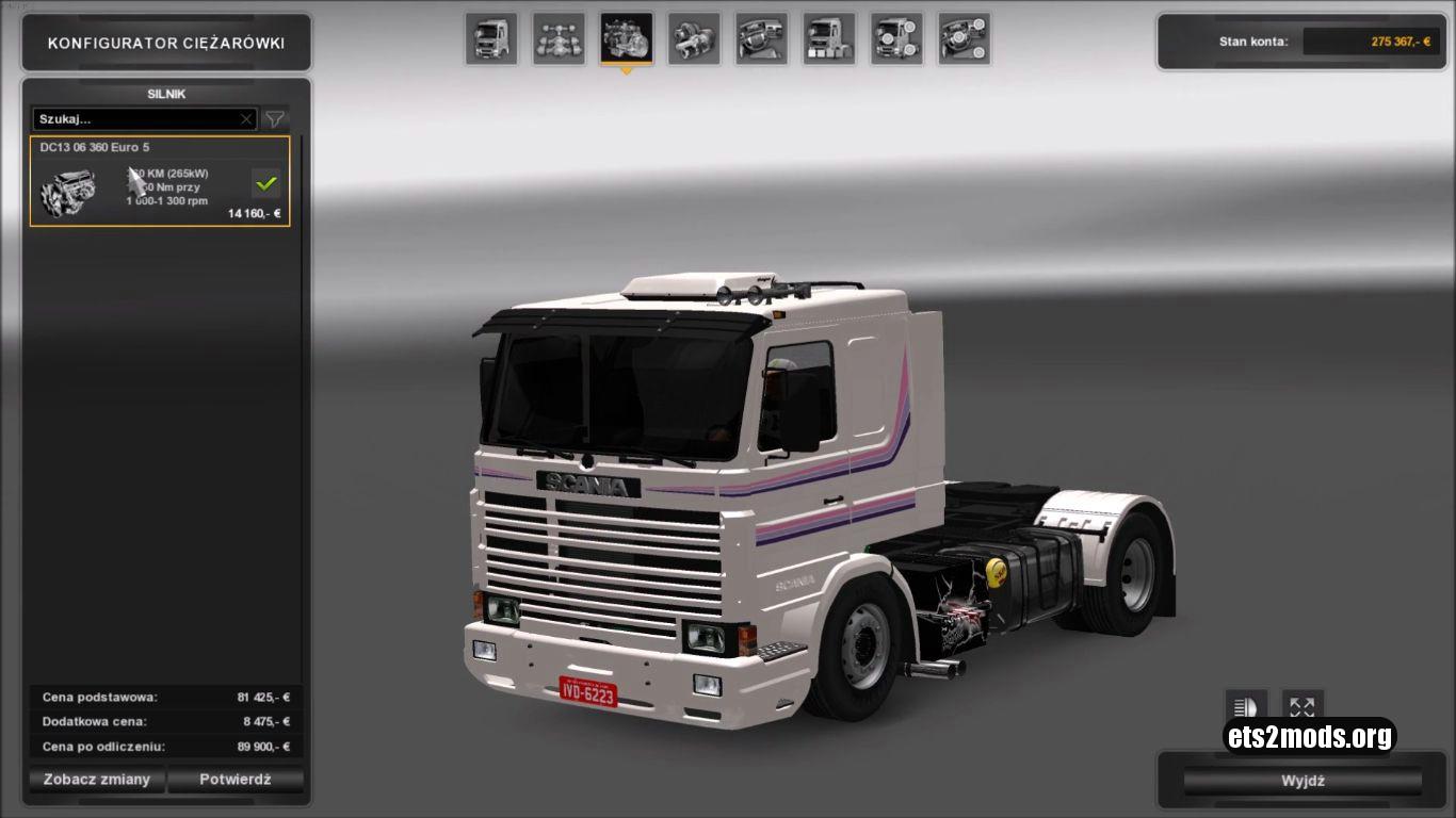 Truck - Scania 113 V 3.0