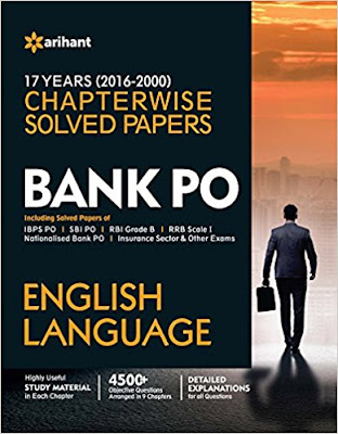 Download Free Bank PO English Language Chapterwise Solved Papers Book PDF