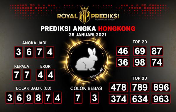Prediksi Hongkong 28 Januari 2021 Hari Kamis