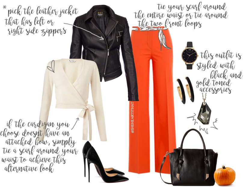 Achieve this leatherette look this Autumn