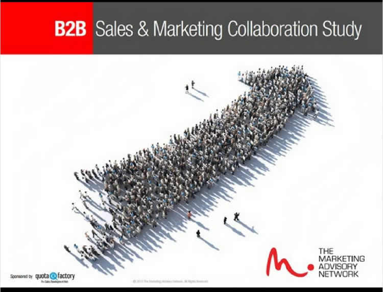 B2B Sales & Marketing Collaboration Study Report 100% Off