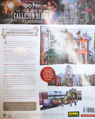 Review de Harry Potter: La Guía Pop-Up del Callejón Diagon y alrededores - Norma Editorial