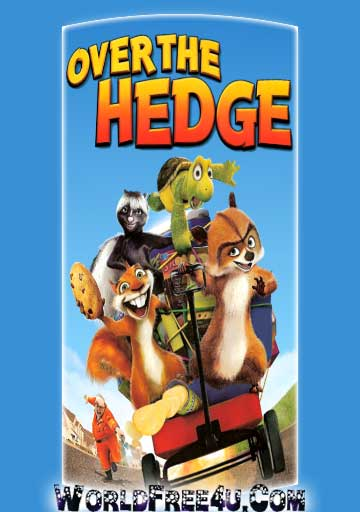 Poster Of Over the Hedge (2006) In Hindi English Dual Audio 300MB Compressed Small Size Pc Movie Free Download Only At worldfree4u.com