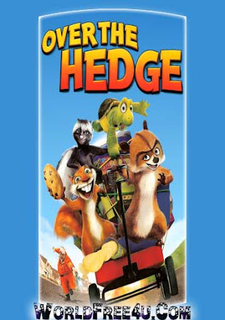 Poster Of Over the Hedge 2006 In Hindi Bluray 720P Free Download