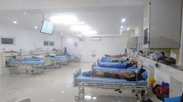 Bali facing imminent hospital beds shortage: official