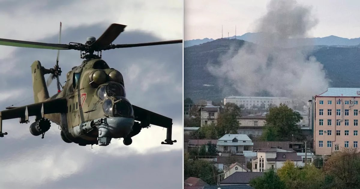 Azerbaijan Shoots Down Russian Helicopter As Fighting Continues To Rage Over The Artsakh Region