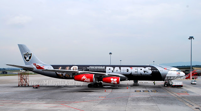 AirAsia X Raiders Aircraft