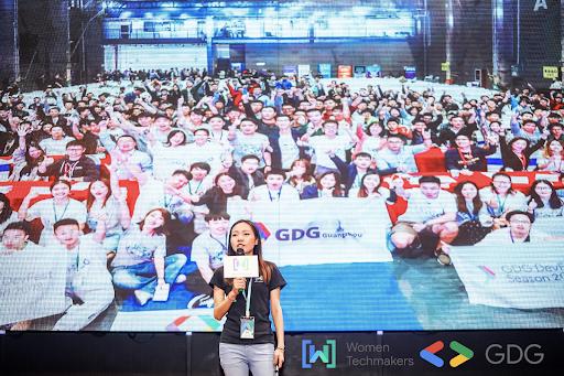 Hebe He, an organizer of Google Developer Group Guangzhou in China.