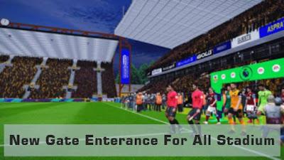 Gate Enterance For All Stadium