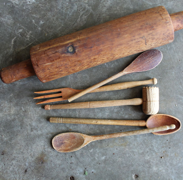 A Fun Re-Use Project With Wooden Utensils- Itsy Bits And Pieces Blog