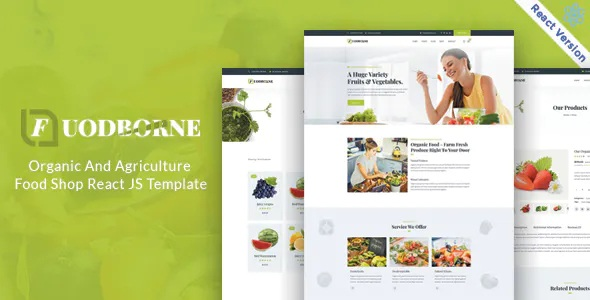 Best Organic & Agriculture Food Shop Template