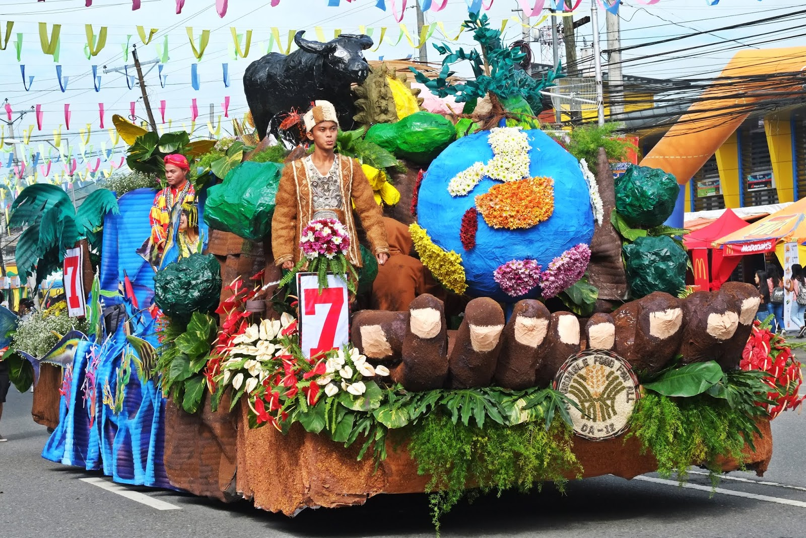 Tnalak Float Parade