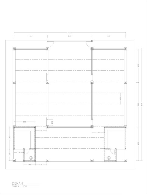 desain arsitektur mushola
