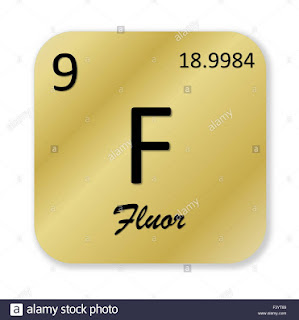 FLOUR ; Sumber Flour ,  pembuatan , sifat , persenyawaan dan kegunaannya