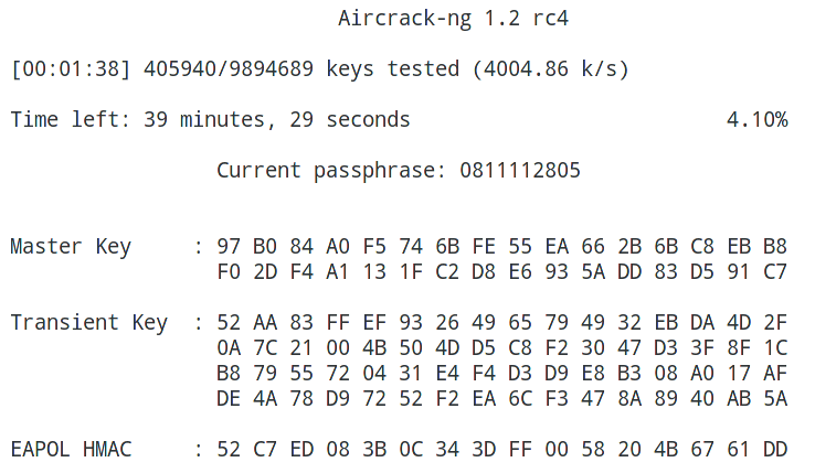 Hacking WPA/WPA2 passwords with Aircrack-ng & Hashcat - KaliTut