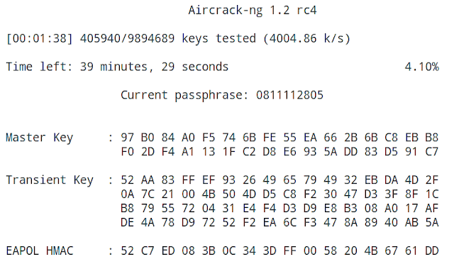 aircrack Brute force