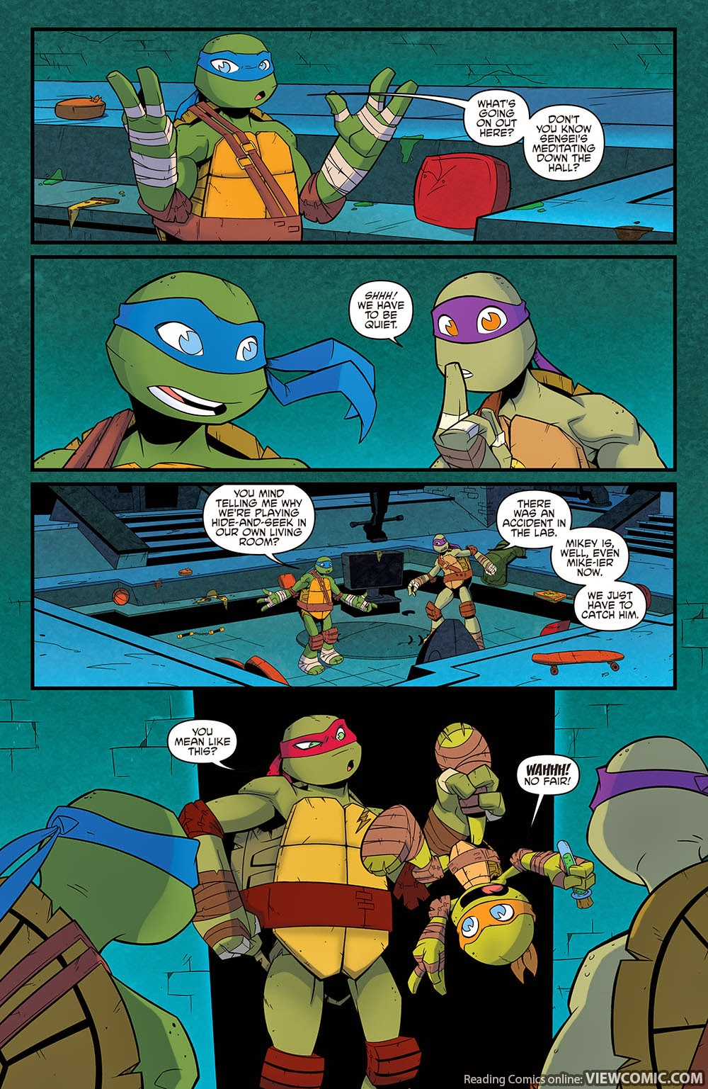 Teenage Mutant Ninja Turtles – New Animated Adventures 021 (2015