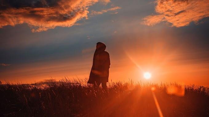 Sozinho, Solidão, Meditação, Natureza, Pôr do Sol