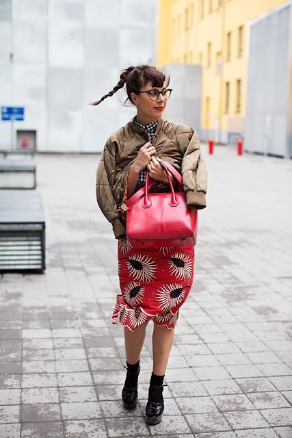 Calcetines cortos con salones street style 2015-2016