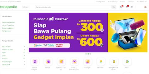 Template Mas Sugeng VioToko redesign Mirip Tokopedia Gratis Download