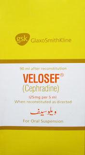 Velosef 125mg Suspension