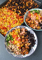 Sweet Potato & Black Bean Burrito Bowls