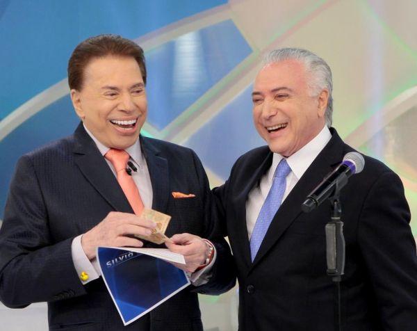 Temer com Silvio Santos, é mole!