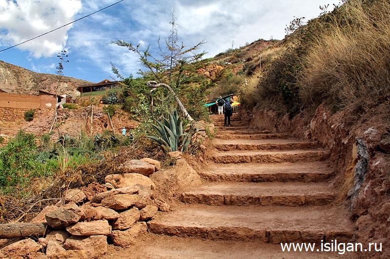 Соляные террасы Салинас-де-Марас (Salinas de Maras). Перу
