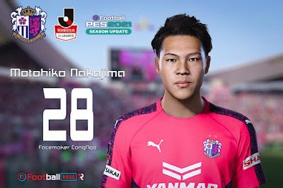 PES 2021 Faces Motohiko Nakajima by CongNgo