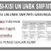 Download Kisi Kisi UN UNBK SMP Tahun 2019/2020 Lengkap Semua Mata Pelajaran