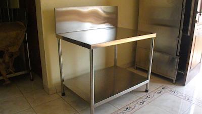 Meja stainless murah di Malang