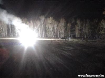 UFO zuhant le tűzgolyóként egy orosz erdőben? – videó