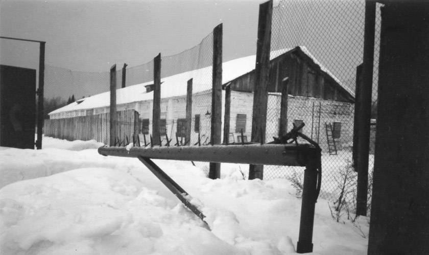 Табір ВС-389/36 у селі Кучино на Середньому Уралі, де відбував покарання і помер Василь Стус. Фото 1999 року