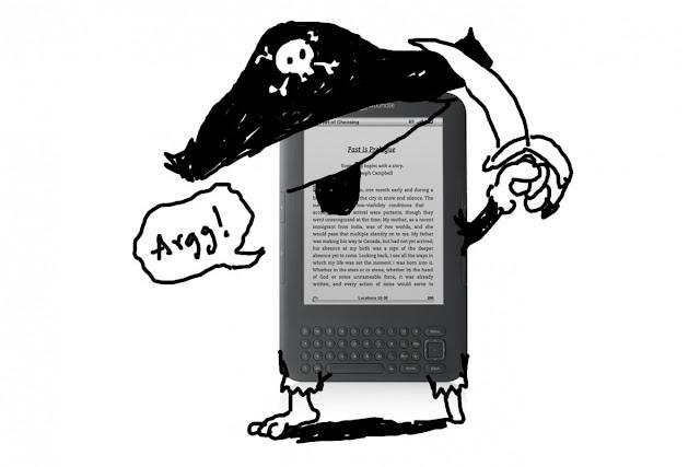 El futuro de la quema de libros - Piratería